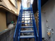 階段塗装工事