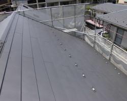 屋根工事(カバー工法)