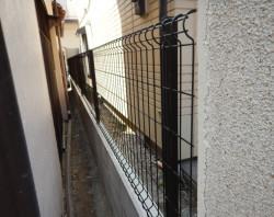 フェンス新規設置工事