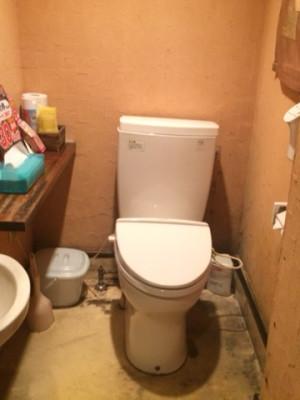 トイレ交換 トイレ工事 店舗トイレ お店トイレ工事 テナントトイレ 水回り 新宿区リフォーム リリーフプラス