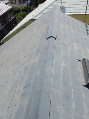 屋根カバー工法 杉並区リフォーム 屋根工事 かぶせ