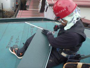 屋根工事 屋根葺き替え カバー工法 リリーフプラス リリーフ住宅 リフォーム杉並