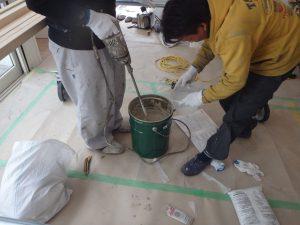 珪藻土 内装工事 リノベーション 杉並区リフォーム クロス
