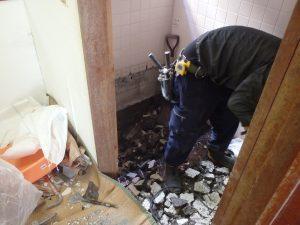 杉並区 リリーフプラス リフォーム 風呂場 施工写真