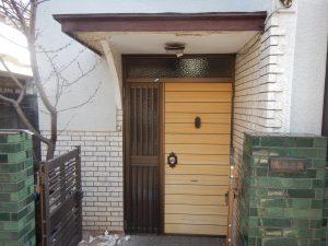 玄関ドア交換 ドアリフォーム 玄関リフォーム 杉並区リフォーム 練馬区リフォーム 中野区リフォーム