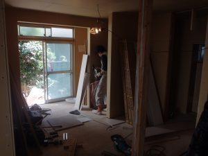 リフォーム リリーフプラス リリーフ住宅 杉並区 内装工事